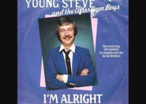 STEVE WRIGHT - 'I'm Alright' - 1982 45rpm