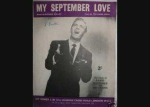 David Whitfield - My September Love (1956)