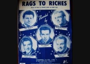 David Whitfield with Stanley Black & his Orchestra - Rags to Riches (1953)