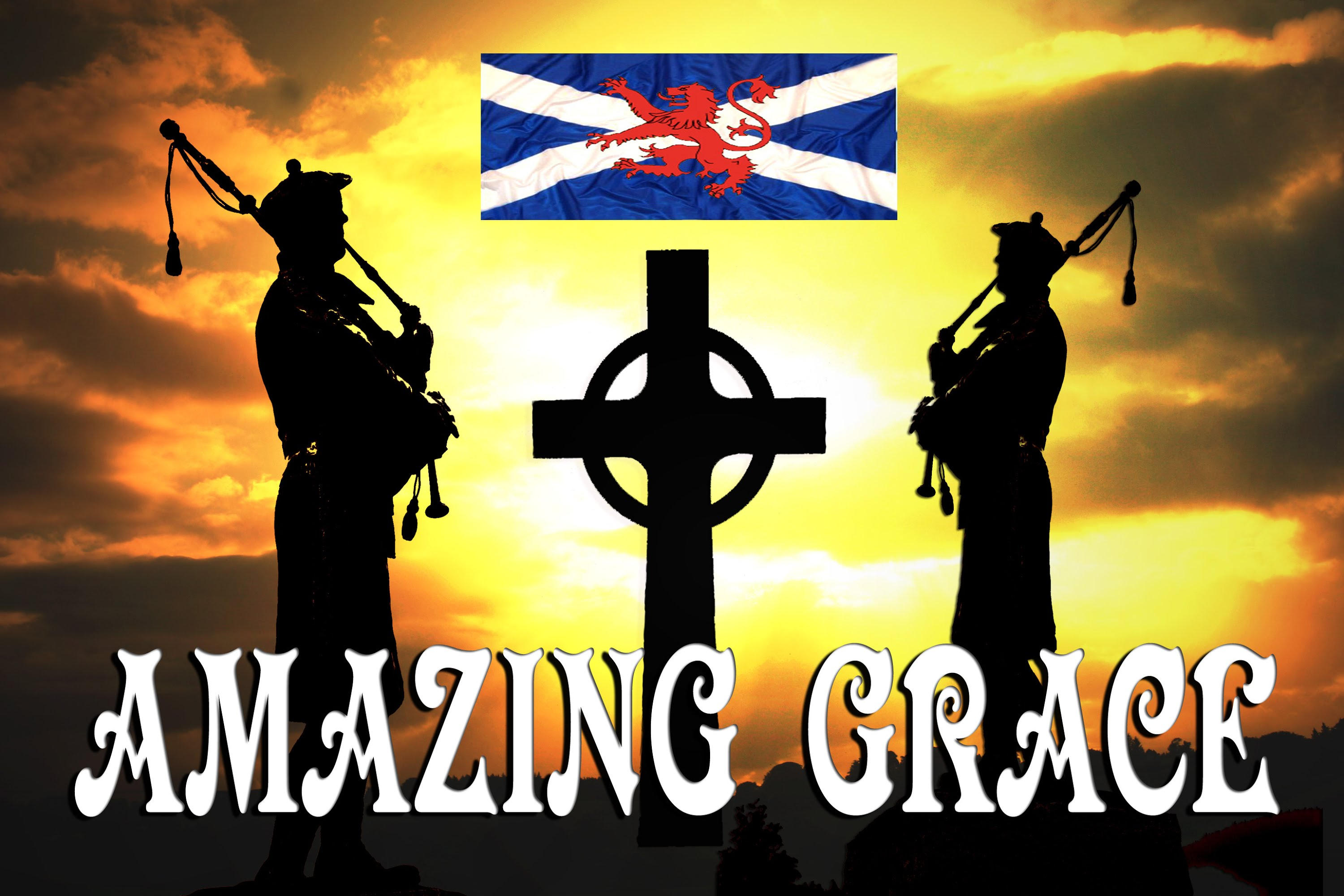 Royal Scots Dragoon Guards – Amazing Grace