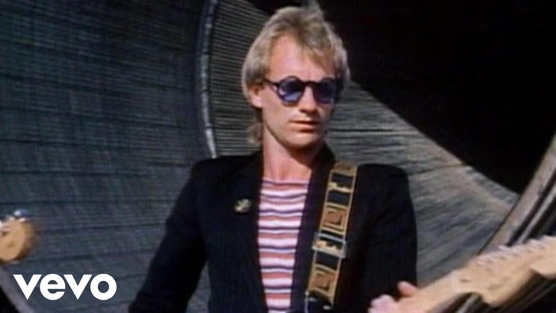 The Police – Walking On The Moon