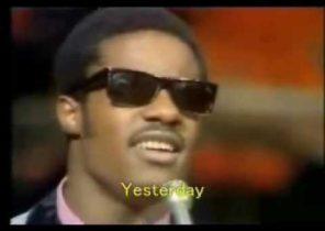 Stevie Wonder - Yesterme Yesteryou Yesterday (ORIGINAL)