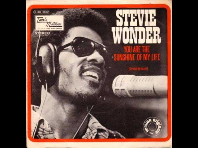 Stevie Wonder – You Are The Sunshine Of My Life