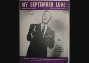 David Whitfield - My September Love (1956)