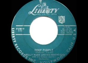 1957 HITS ARCHIVE: Deep Purple - Billy Ward & His Dominoes
