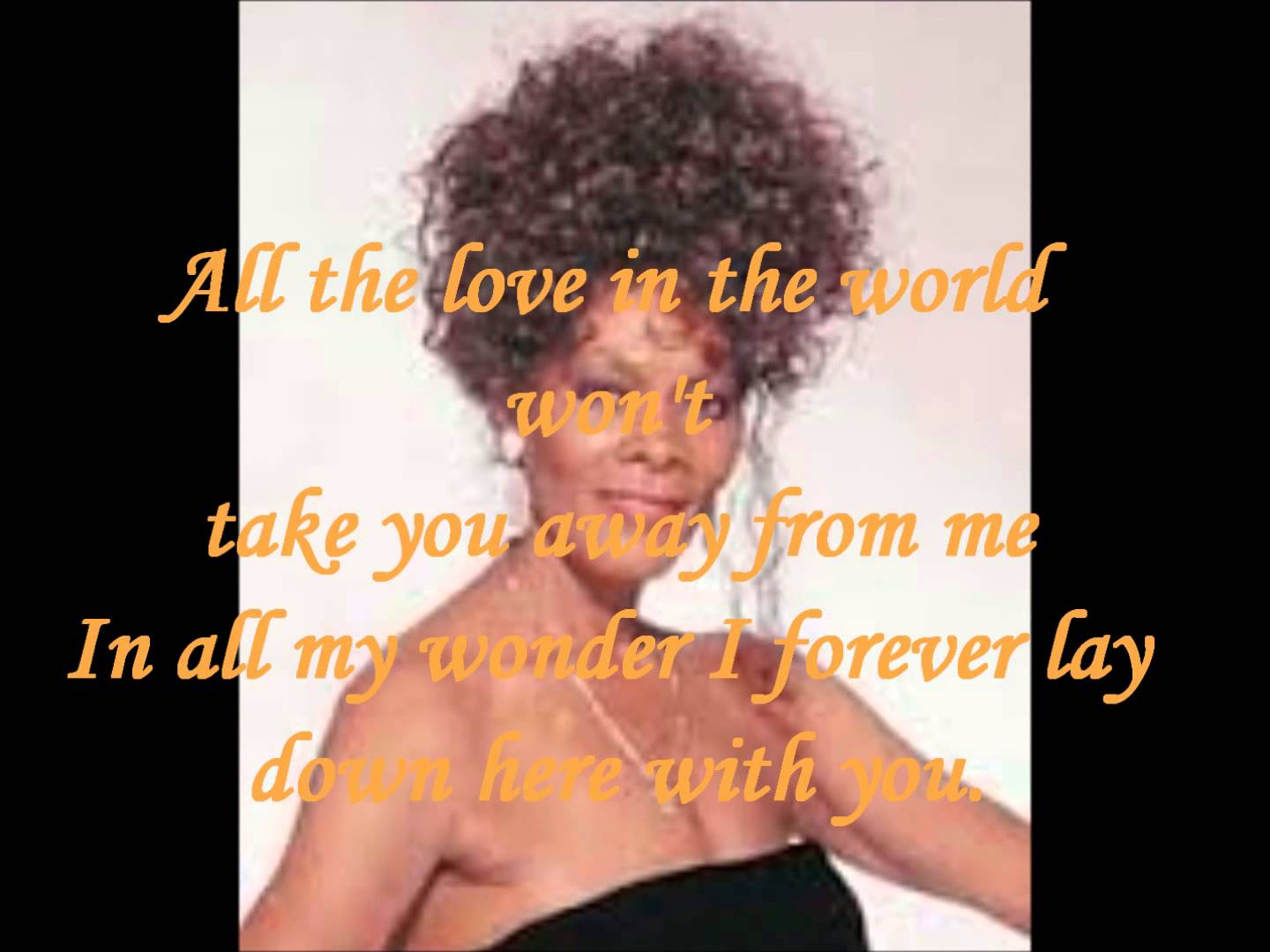 Dionne Warwick – All The Love Of The World