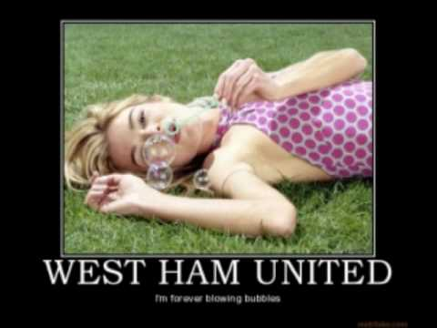 West Ham United Cup Squad – I'm Forever Blowing Bubbles