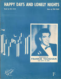 Frankie Vaughan – Happy Days And Lonely Nights