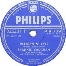 Frankie Vaughan – Wanderin Eyes