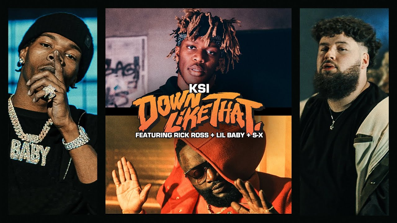 KSI (feat. Rick Ross, Lil Baby & S-X) – Down Like That