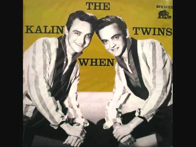 The Kalin Twins - When (1958)